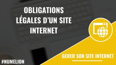 Obligations légales d'un site internet