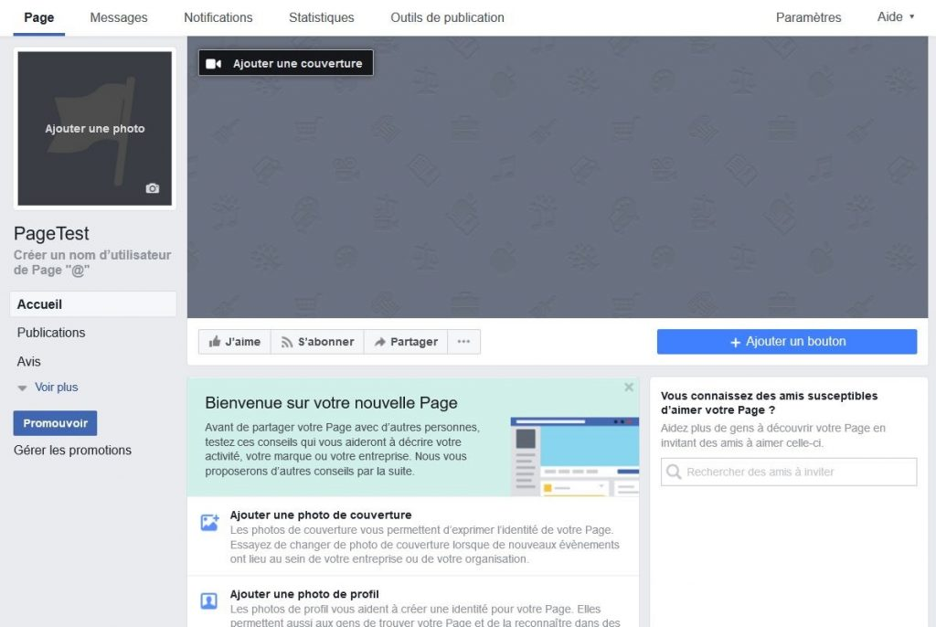 Personnaliser une page Facebook