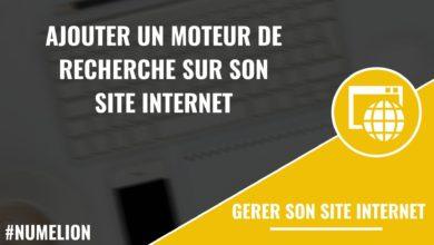 Ajouter un moteur de recherche sur son site internet