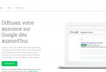 Créer un compte Google AdWords