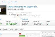 GTmetrix pour tester la vitesse de chargement d'une page internet