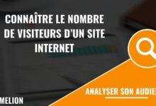 Connaître le nombre de visiteurs d'un site internet