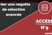 Requête de sélection améliorée dans Access