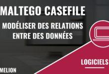 Maltego CaseFile : Modéliser des relations entre des données