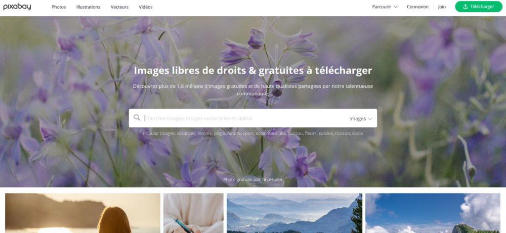 Pixabay - Des millions d'images et de photos gratuites même pour un usage commercial