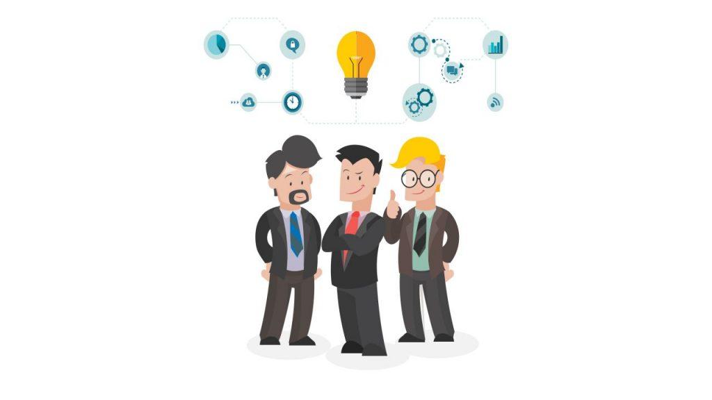 Présenter son équipe quand on créer un business plan