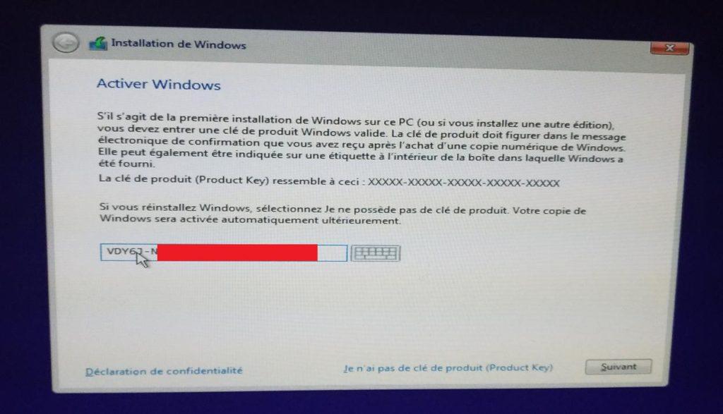 obtenir windows 10 pro pour 5 avec tutoriel pour l