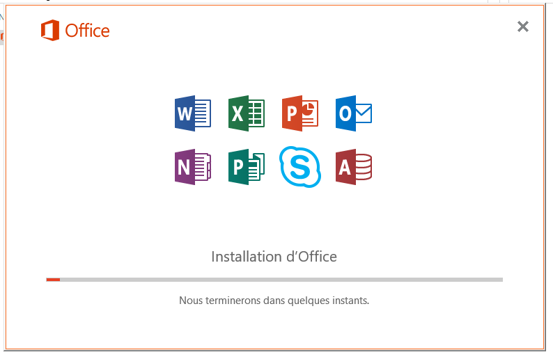 Installation de Office Pro