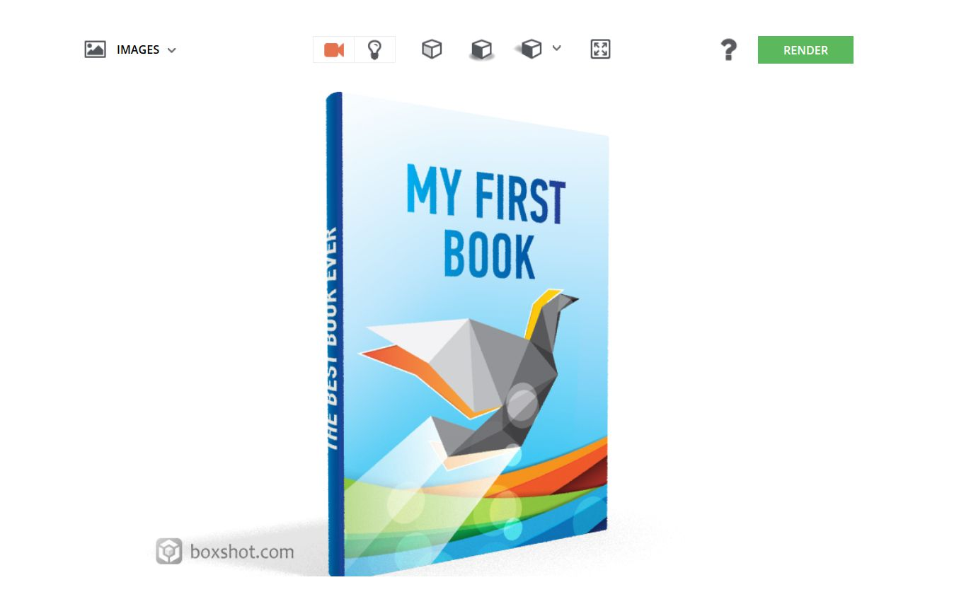 Boxshot Lite application en ligne pour mockup