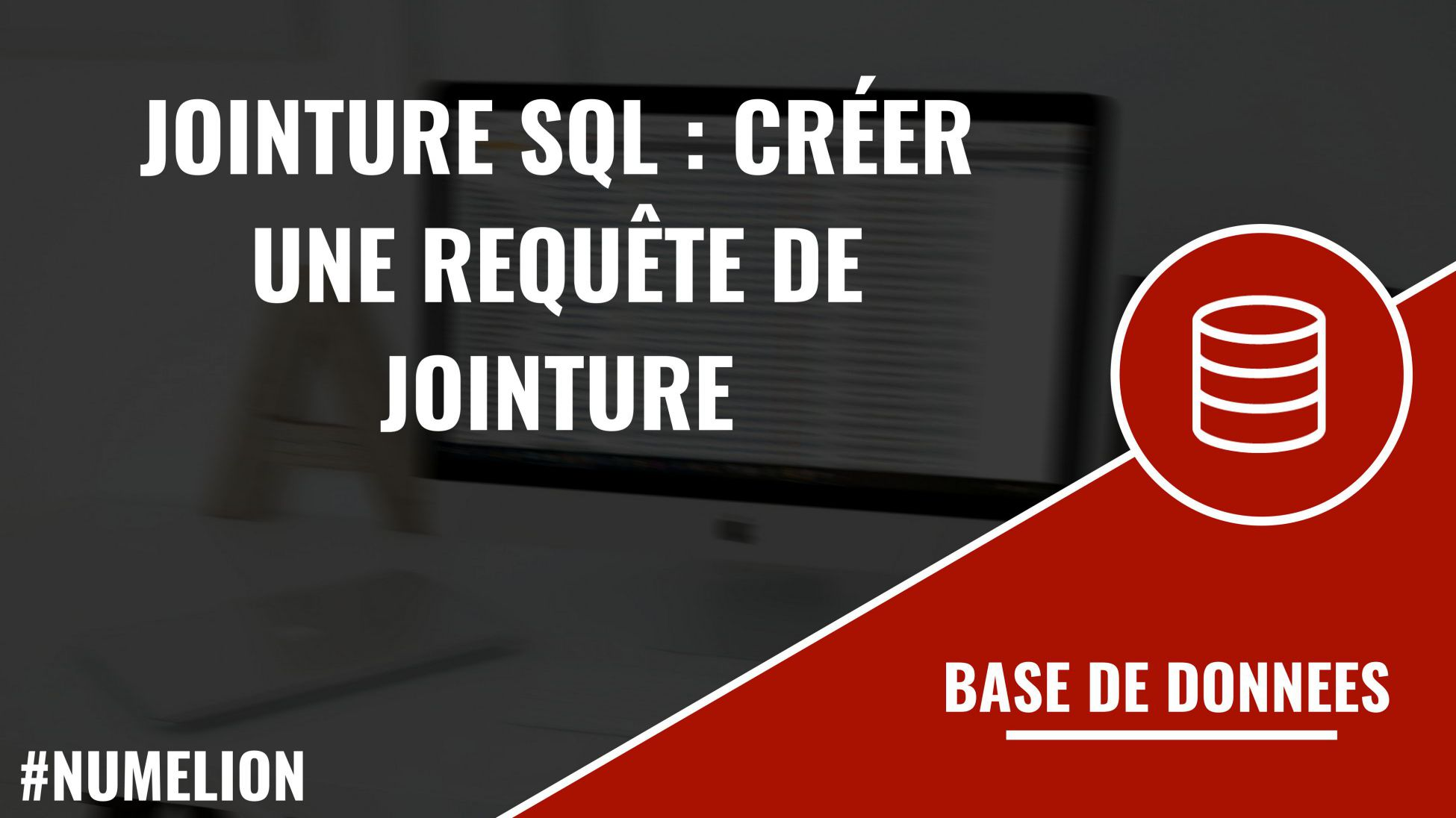 Jointure Sql Creer Une Requete De Jointure Simple