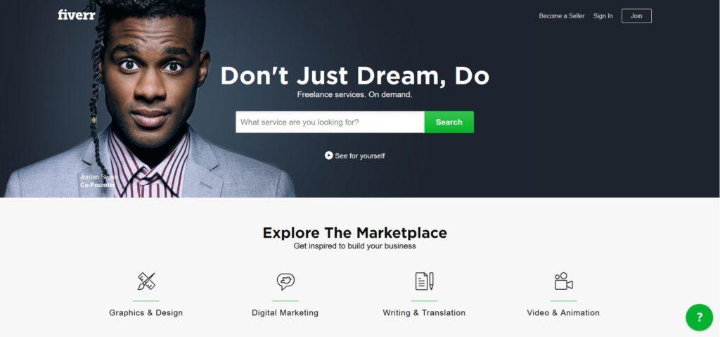 Faire traduire votre site web avec Fiverr