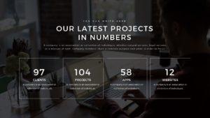 Google Slide création de projet