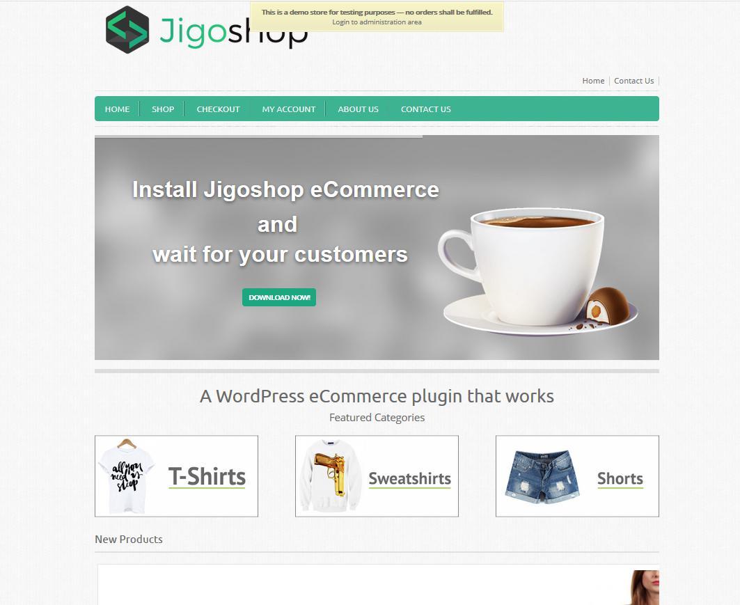 Jigoshop - une extension WordPress pour e-commerce