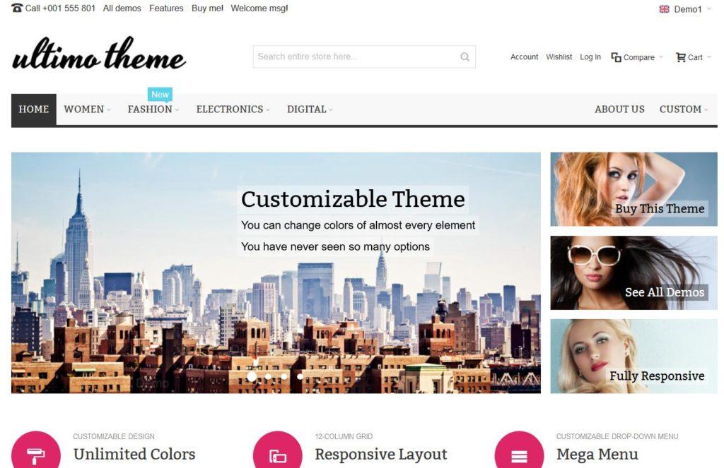 Magento pour créer une boutique en ligne