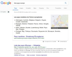 Position 0 dans Google sous la forme de liste