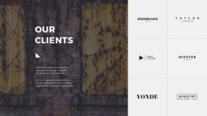 Slide clients