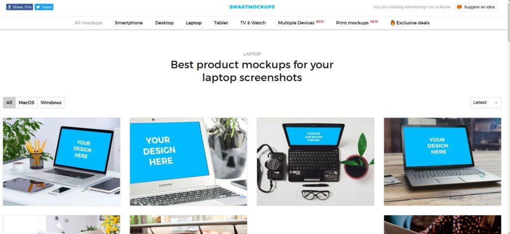 Smartmockups l'application simple et rapide pour créer un mockup