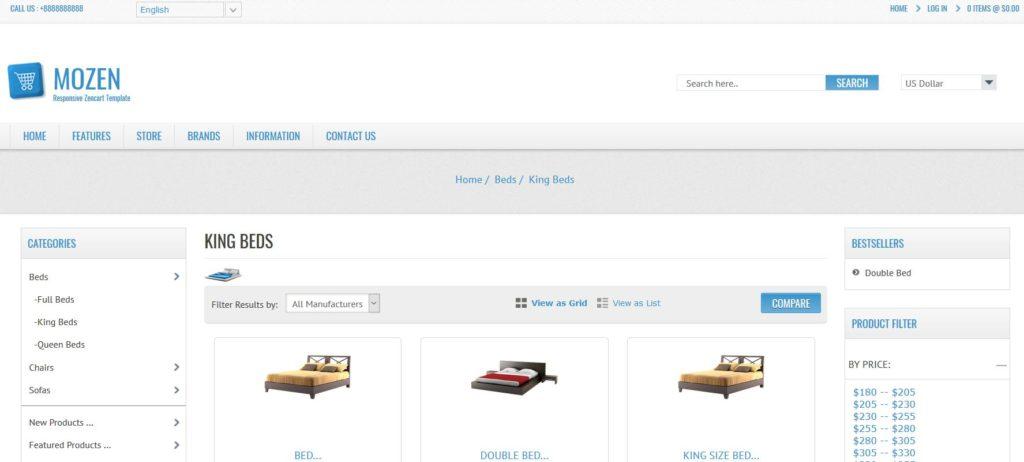 Zencart pour créer un commerce en ligne