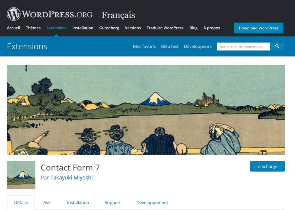 Contact Form 7 le plugin gratuit pour créerdes formulaires