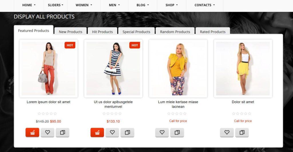 Extension Virtuemart de Joomla! pour lancer un e-commerce