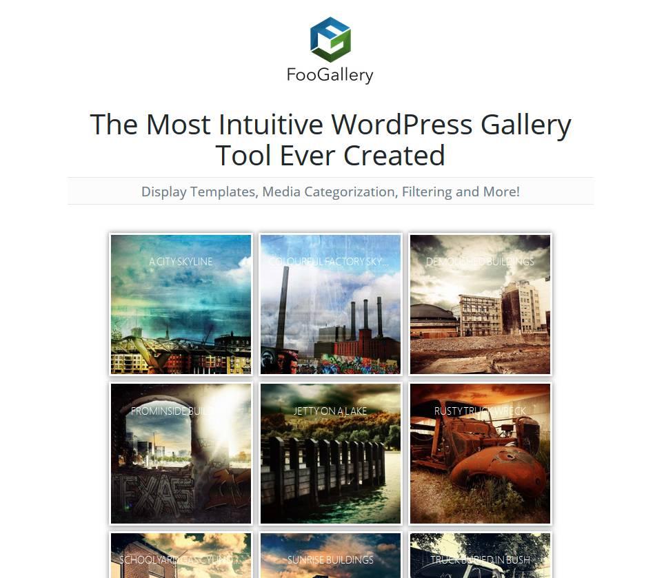 FooGallery - Créer une galerie image dans WordPress