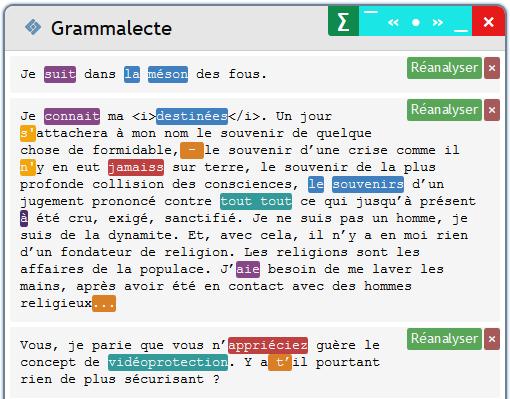 Grammalecte - Une extension correcteur d'orthographe directement dans un navigateur