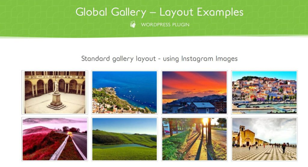 Media Grid - Extension de galerie photo dans WordPress