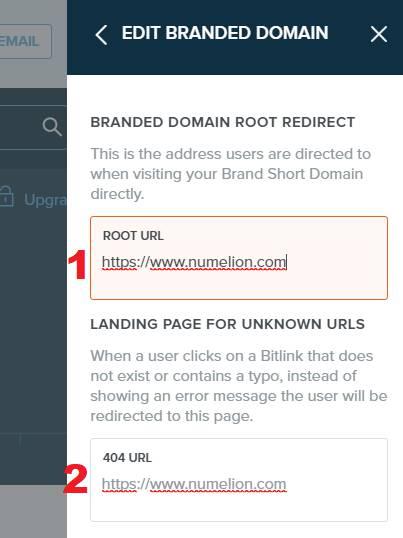 Modifier le nom de domaine personnalisé
