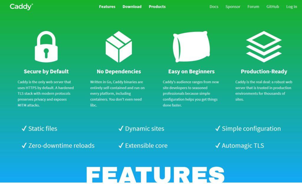 Caddy Server - Un serveur web idéal pour les débutants