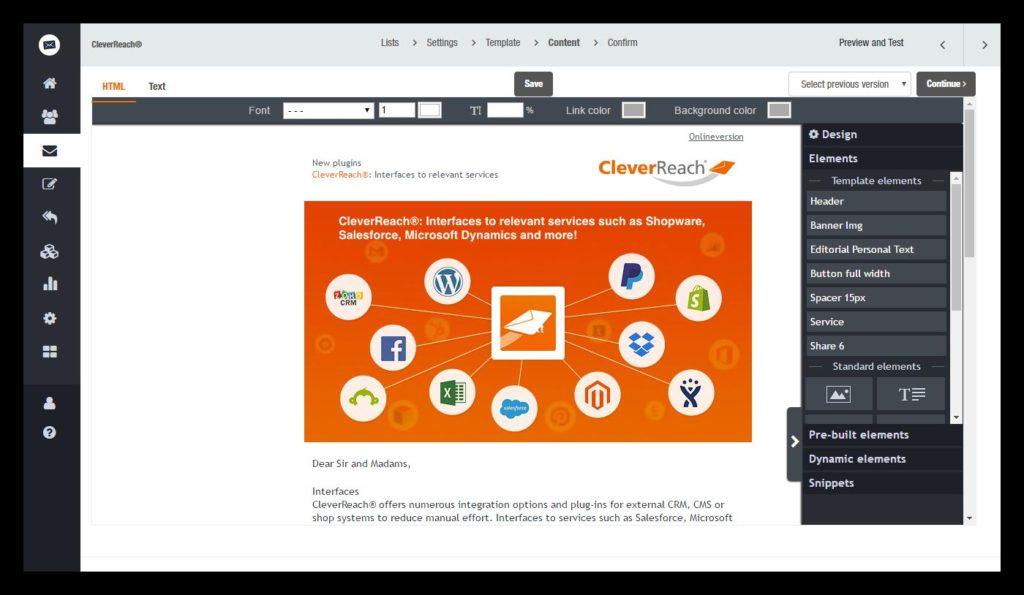 CleaverReach - Un outil allemand pour créer des newsletter
