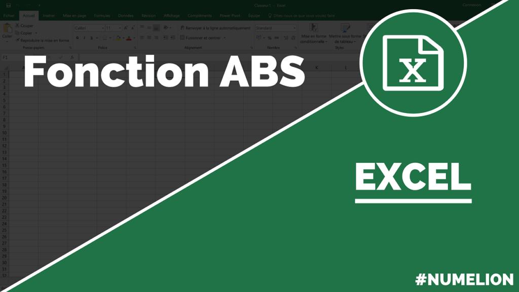 Utiliser la fonction ABS dans Excel