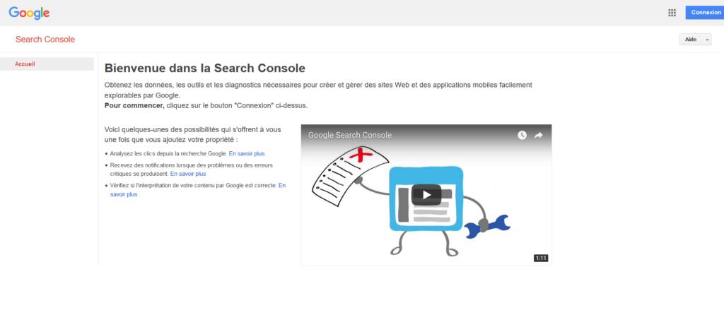 Google Search Console pour votre référencement