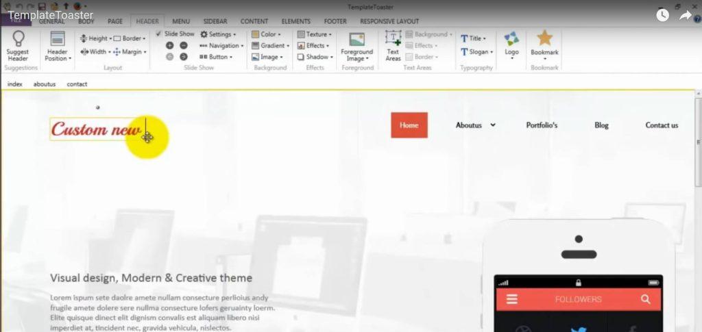 Utiliser TemplateToaster pour créer un thème WordPress
