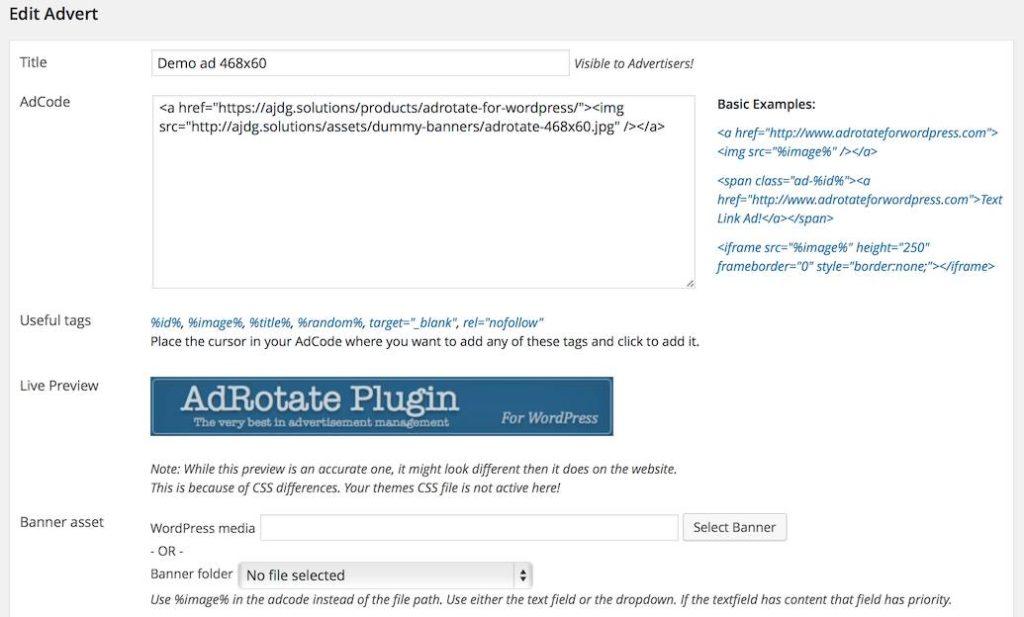 AdRotate - Un des plugins de publicité sur WordPress de référence