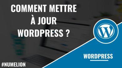 Mettre à jour WordPress
