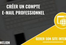 Créer un compte e-mail professionnel