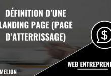 Définition d'une Landing Page