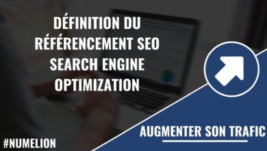 Référencement SEO - Search Engine Optimization