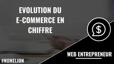 Evolution du e-commerce en chiffre (France)