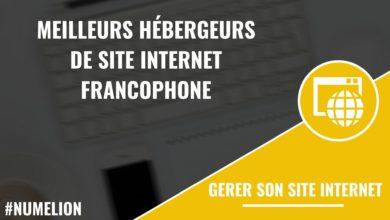Les meilleurs hébergeurs de site internet francophone