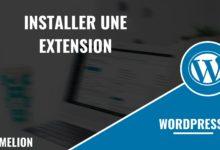 Installer une extension dans Wordpress