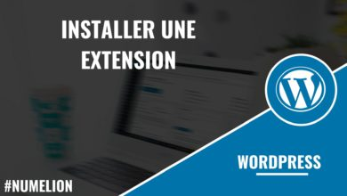 Installer une extension dans Wordpress