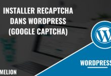 Installer reCaptcha dans Wordpress (Google captcha)