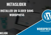 MetaSlider pour installer un slider dans WordPress