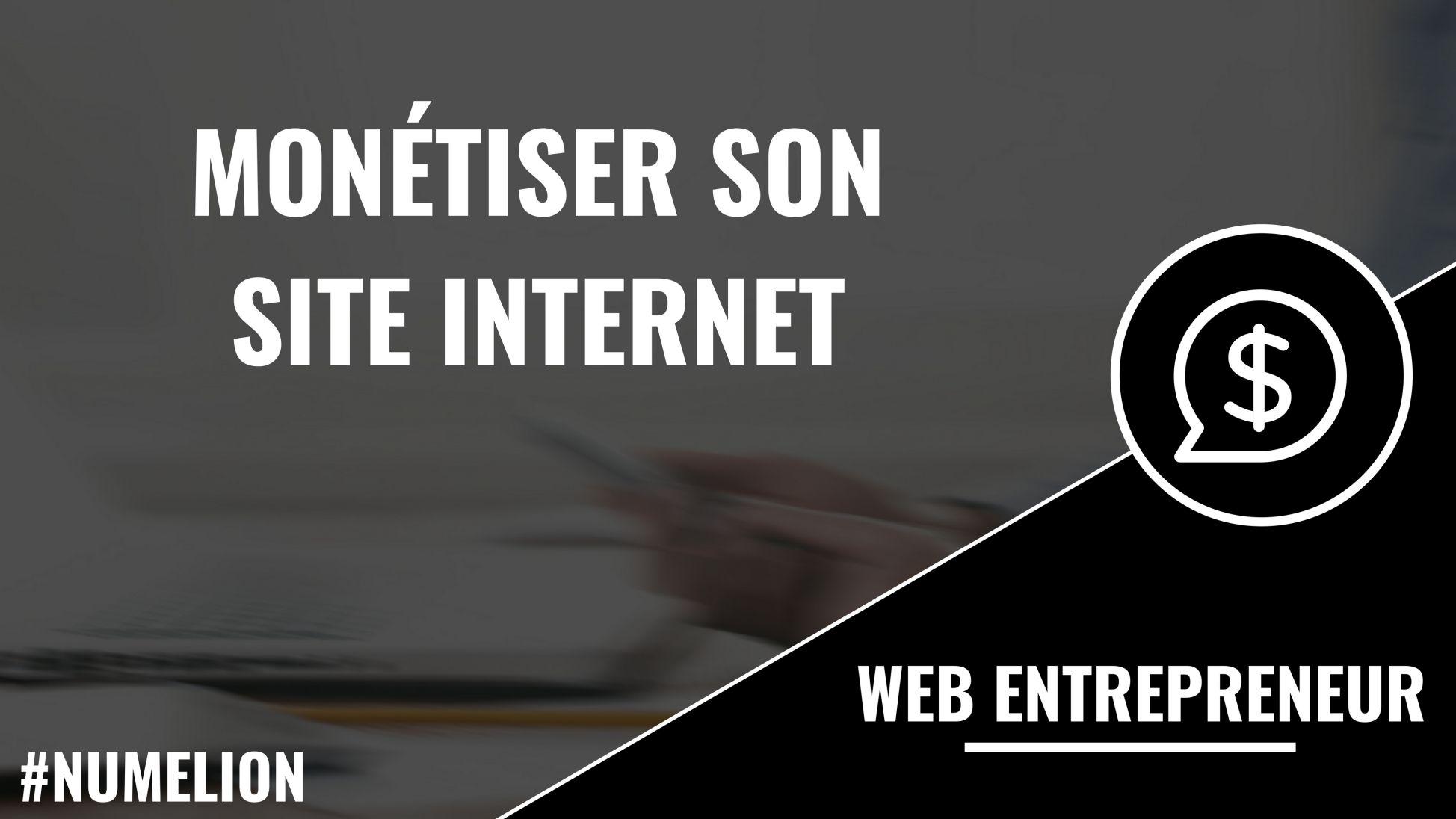 Monétiser son site internet