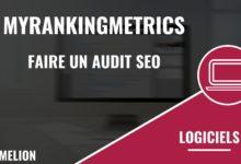 MyRankingMetrics (RM Tech) pour obtenir un rapport après un audit SEO