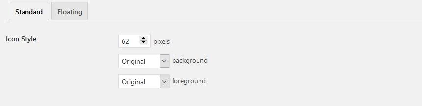 Paramétrer les styles de boutons dans AddToAny