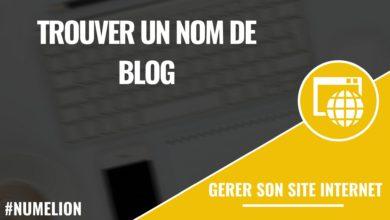 Comment trouver un nom de blog ?