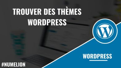 Trouver des thèmes WordPress