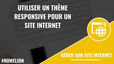 Utiliser un thème responsive pour un site internet